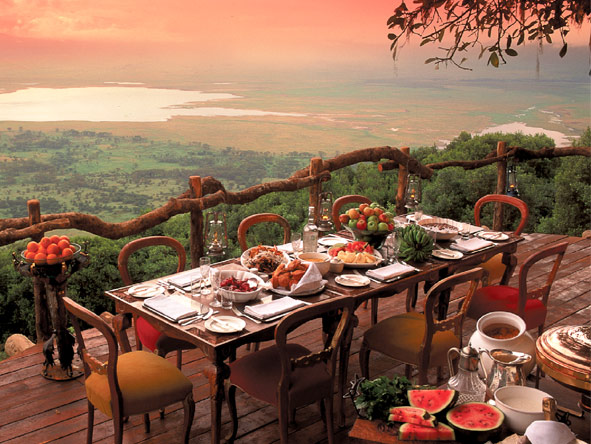Treasures of Tanzania - Delicious meals