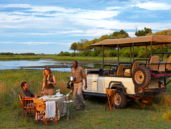 Journey through Botswana - Alfresco dining