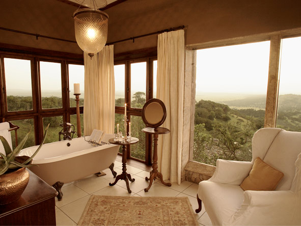 Singita Sasakwa Lodge - Stunning views