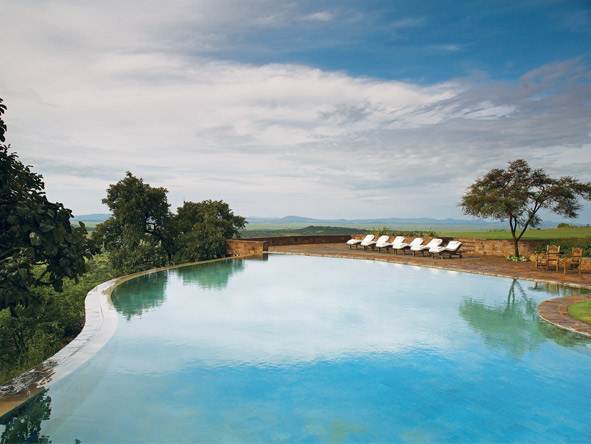 Singita Sasakwa Lodge - Heated swimming pool