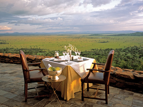 Singita Sasakwa Lodge - Private dining