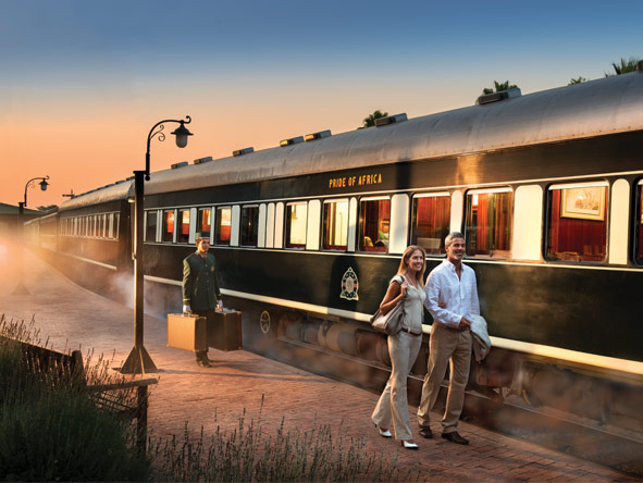 Train Journey to Vic Falls - Golden Age of Travel
