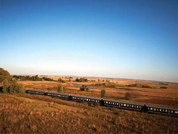 Train Journey to Vic Falls - Stunning views