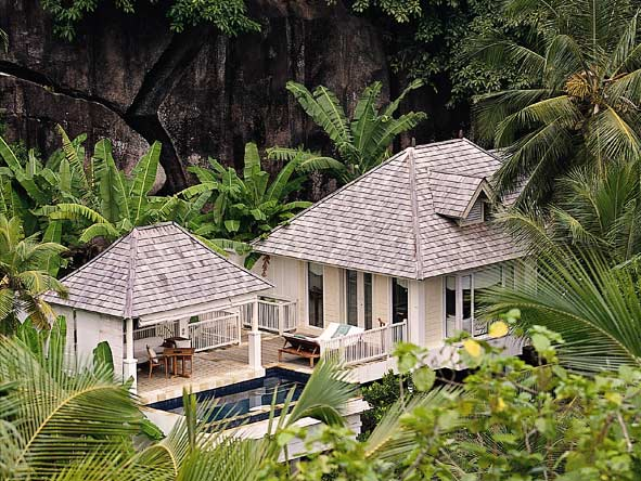 Banyan Tree Seychelles - Complete privacy