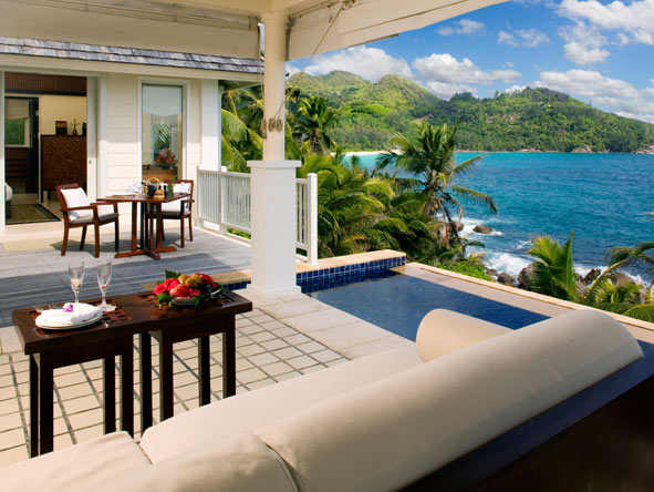 Banyan Tree Seychelles - Stunning views