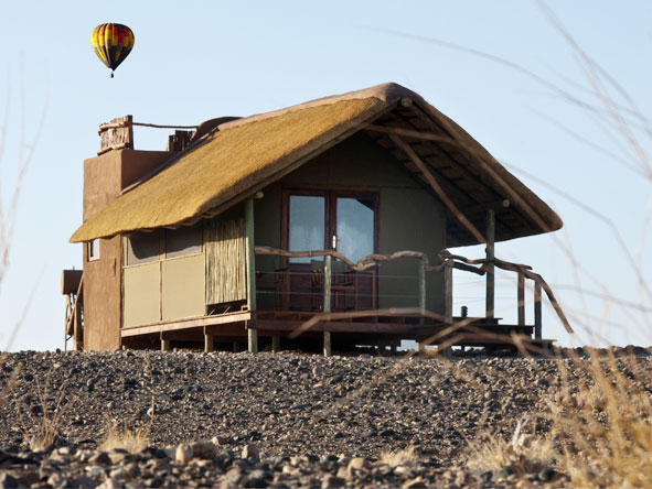 Namibia Circuit - Balloon safaris