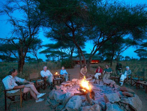 Natural Tanzania - Campfire boma