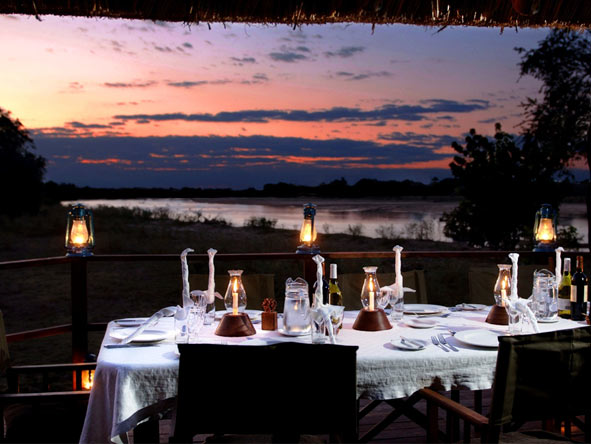 Safari & Beach Exploration - Alfresco dining