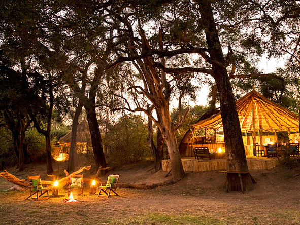 Thrilling Zambian Walking Safari - Fireside stories
