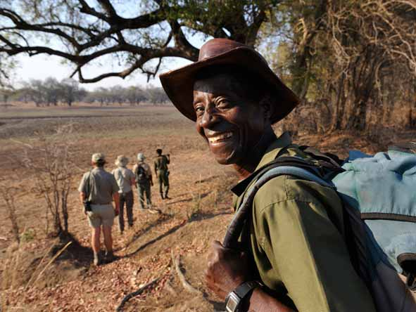 Thrilling Zambian Walking Safari - Experienced professional guides