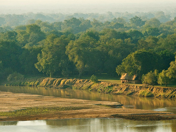 Zambian Walking Safari Adventure - Magnificent riverside locations
