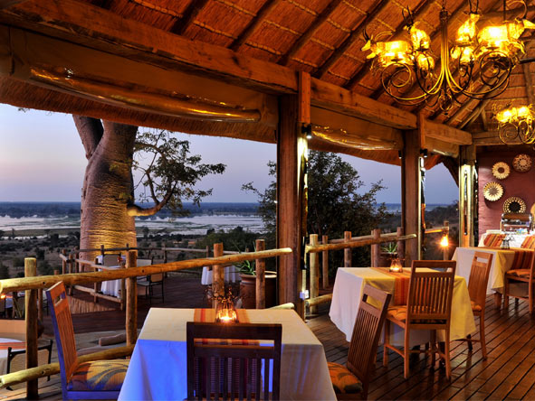 Ngoma Safari Lodge - Chobe River views