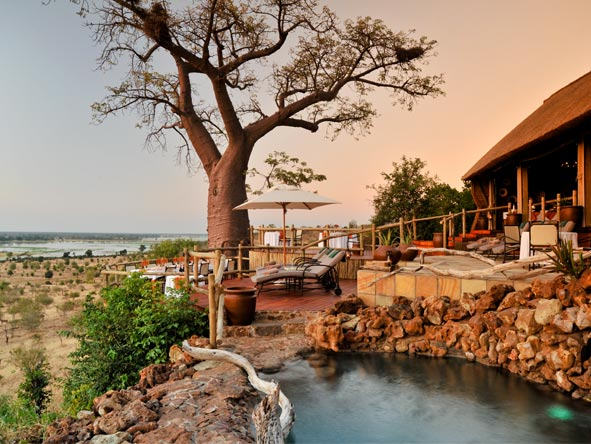 Ngoma Safari Lodge - Swimming pool