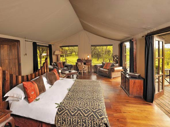 Scenic Tanzania Sky Safari - Spacious tents
