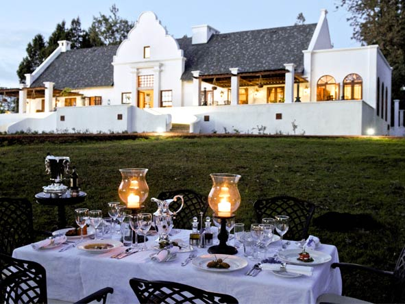 Scenic Tanzania Sky Safari - Classic Cape-Dutch architecture