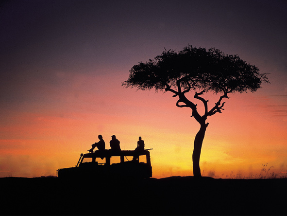 Classic Kenya Private 4x4 Safari - Stunning sunsets