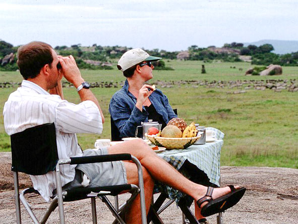 Serengeti Safari Adventure - Afternoon drinks