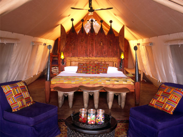 Grumeti Serengeti Tented Camp - Spacious, playful tents
