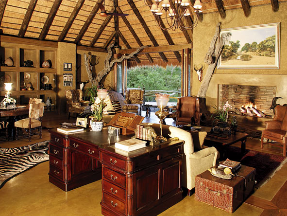 Camp Jabulani - Traditional, yet modern design