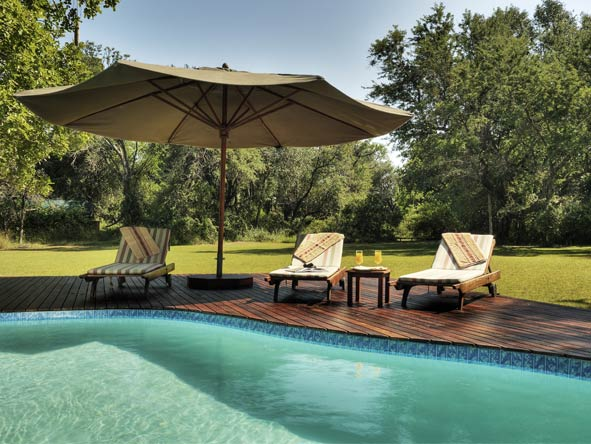 Family Journey through Botswana - Swimming pools