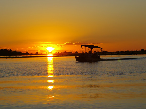 Family Journey through Botswana - Boat safaris