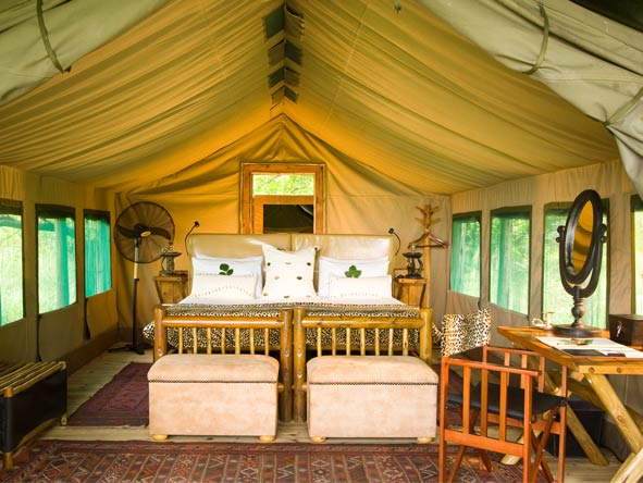 Family Journey through Botswana - Spacious tented suites