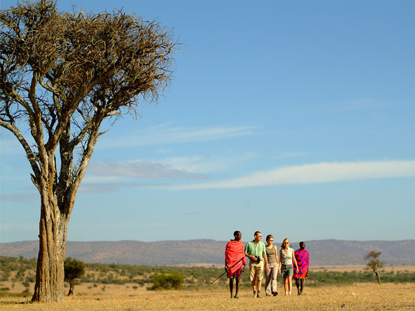 Magnificent Amboseli & Mara Retreat - Guided walking safaris