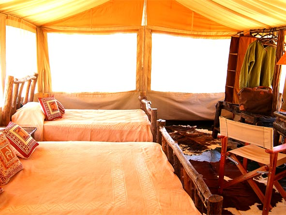Magnificent Amboseli & Mara Retreat - Spacious tents
