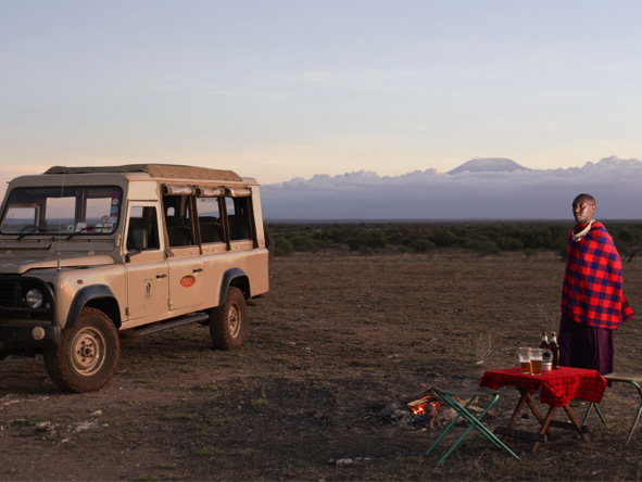 Explore Kenya Camping Adventure - Sundowners & campfires