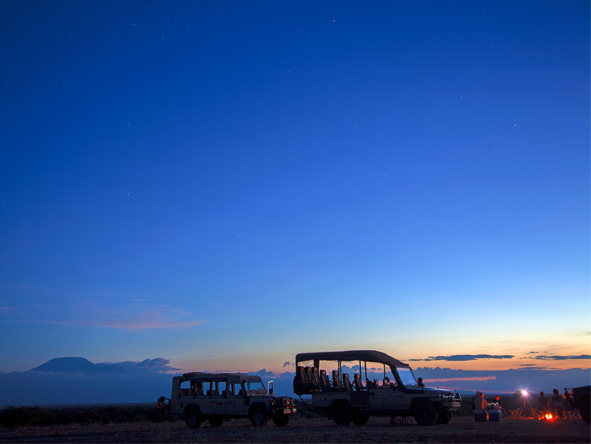 Explore Kenya Camping Adventure - Night game drives
