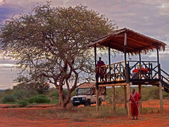 Explore Kenya Camping Adventure - Romantic bush dinners