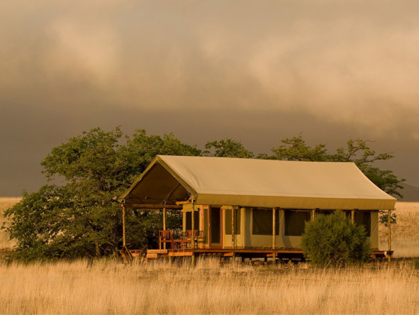 Great Namibian Safari - Spacious tented suites
