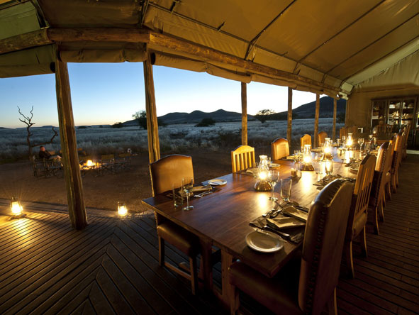Great Namibian Safari - Exciting dining experiences