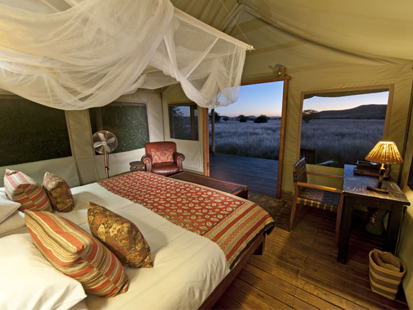 Great Namibian Safari - Luxurious tented camps