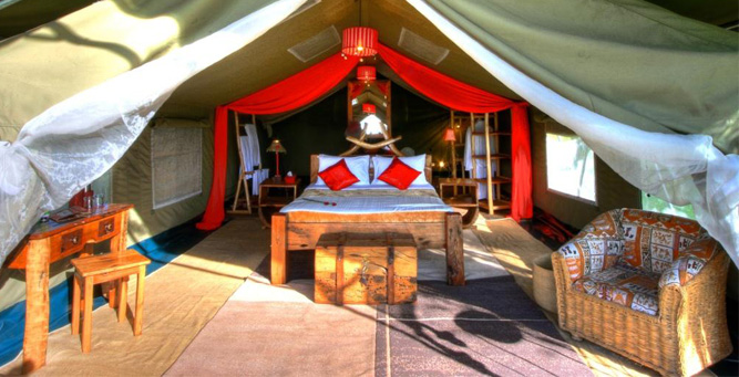 Top 6 Places in for Small Weddings in Africa - Enkiama Marriage Ceremony tent