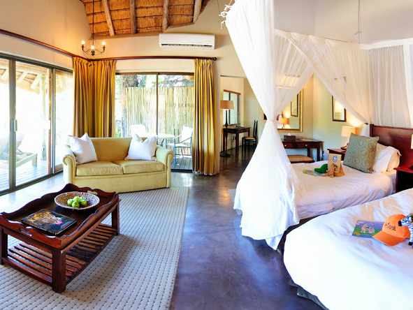 Luxury Family Safari & Beach Adventure - Spacious kids rooms
