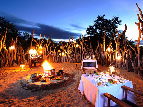 Luxury Family Safari & Beach Adventure - Private alfresco dinners