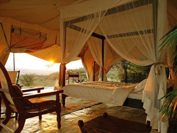 Wilderness Retreat Flying Safari - Spacious tents