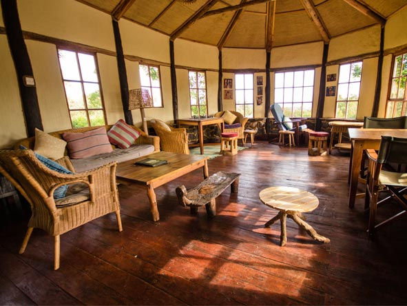 Mount Gahinga Lodge - Stunning views