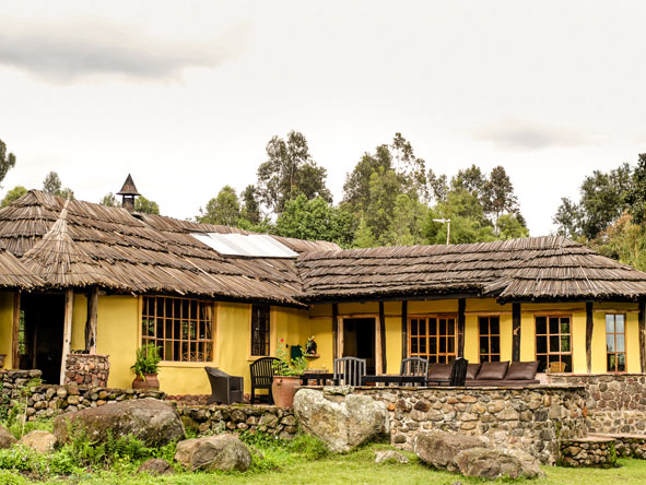 Mount Gahinga Lodge - Eco-friendly nature