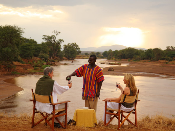 Experience Kenya Private 4x4 Safari - Stunning setting