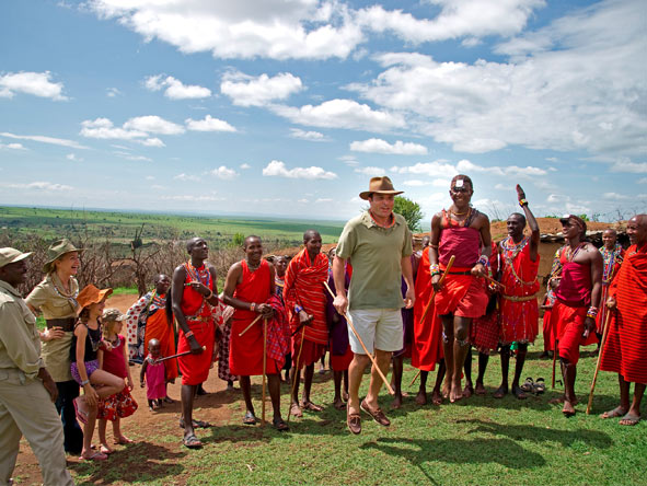 Olanana - Maasai village excursions
