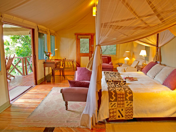 Olanana - Spacious tented suites