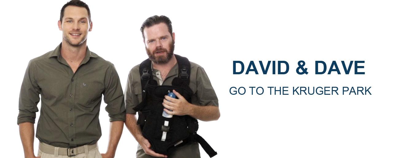 David & Dave in Kruger - banner