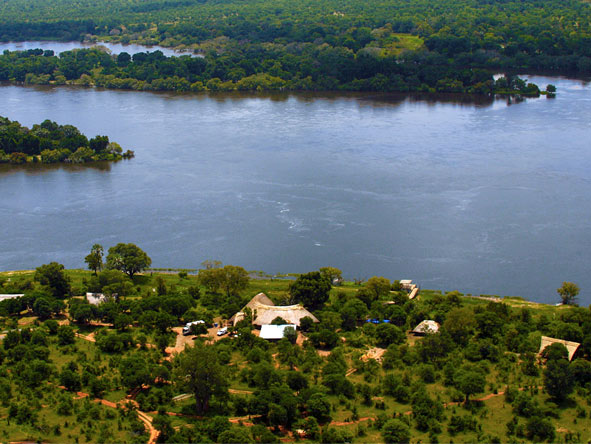 Victoria Falls River Lodge - Spectacular location