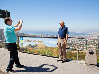 Insider Tips for Going Up Table Mountain - view city