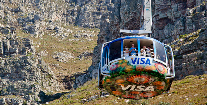 Insider Tips for Going Up Table Mountain - car
