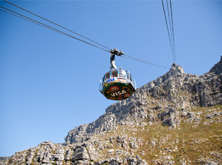 Insider Tips for Going Up Table Mountain - view up