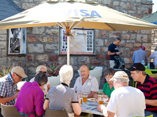 Insider Tips for Going Up Table Mountain - meal