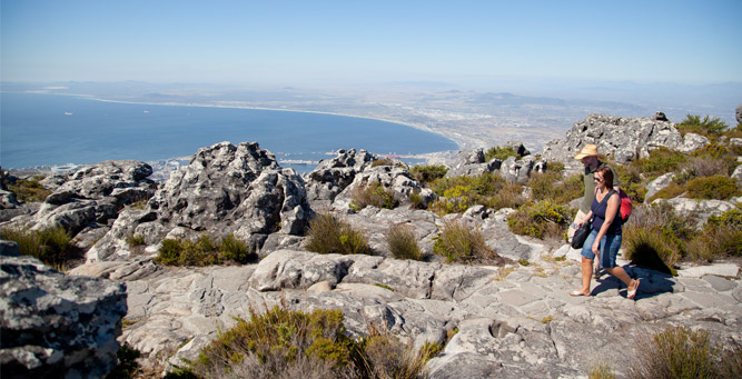 Insider Tips for Going Up Table Mountain - walking